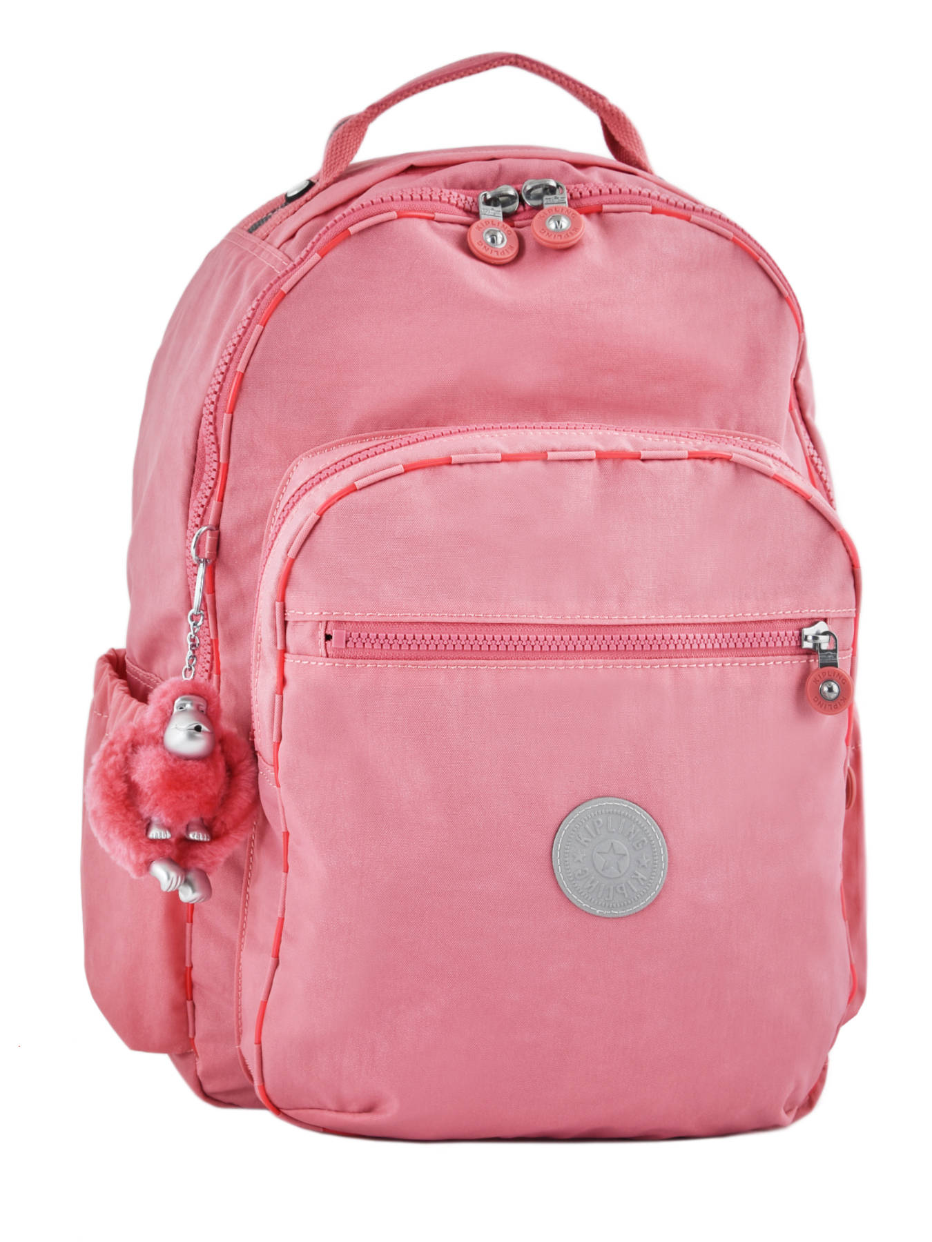 ce13e7347 Rugzak 1 Compartiment + Pc 15'' Kipling Roze go school 116 ...