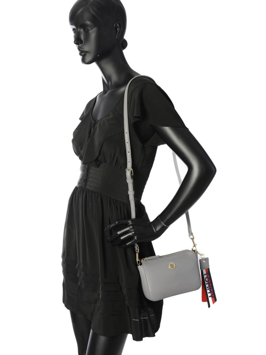 ... Cross Body Tas Charming Tommy hilfiger Grijs charming AW05689 ander  zicht 2 ... a9db3794778d