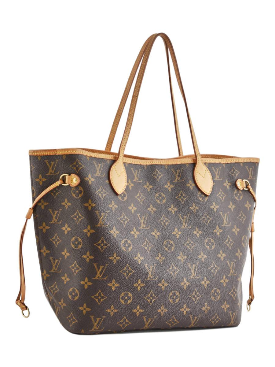 605c1c0d4b6 ... Preloved Louis Vuitton Schoudertas Neverfull Monogram Brand connection  Bruin louis vuitton 400A ander zicht 5 ...
