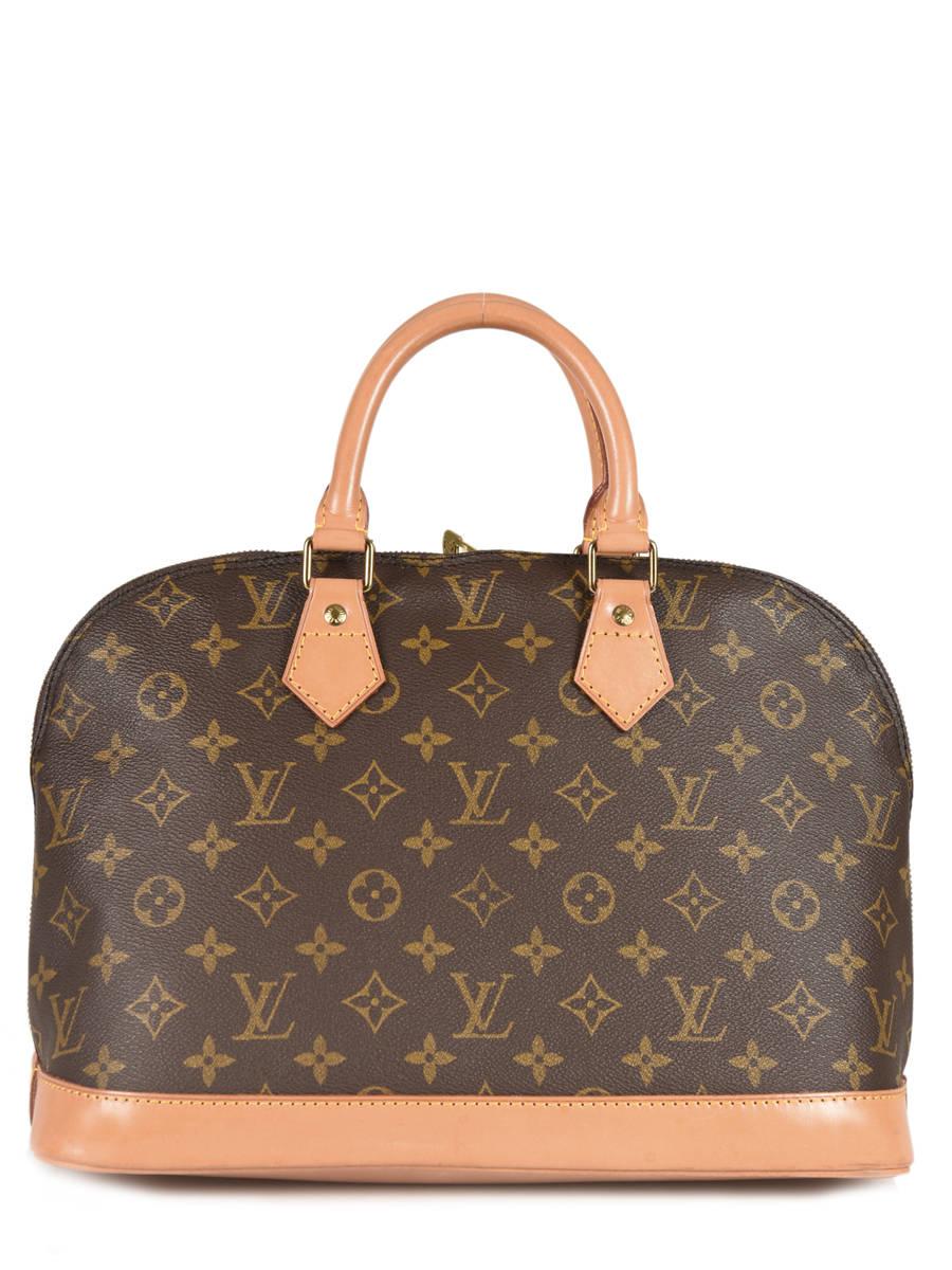 b1679b4e791 Preloved Louis Vuitton Handtas Alma Monogram Brand connection Bruin louis  vuitton 12 ander zicht 3