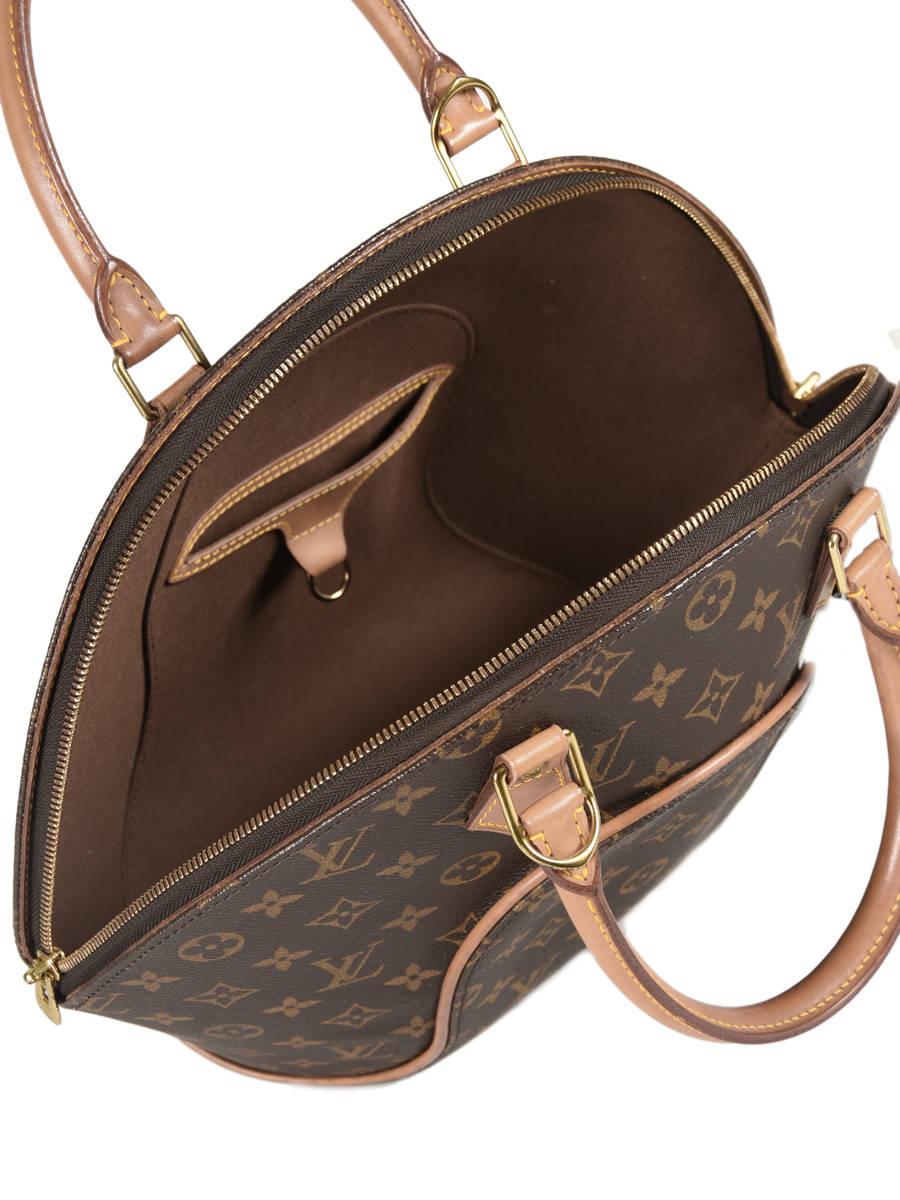 74195a25931 Preloved Louis Vuitton Handtas Ellipse Monogram Brand connection Bruin louis  vuitton 60 ander zicht 4 ...