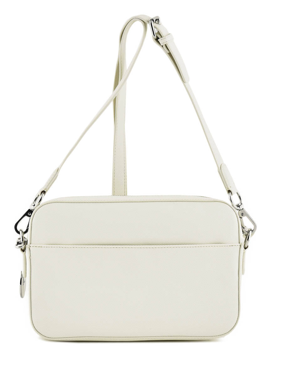 ... Cross Body Tas Daily Classic Lacoste Wit daily classic NF2771DC ander  zicht 3 ... b3a3d4db49