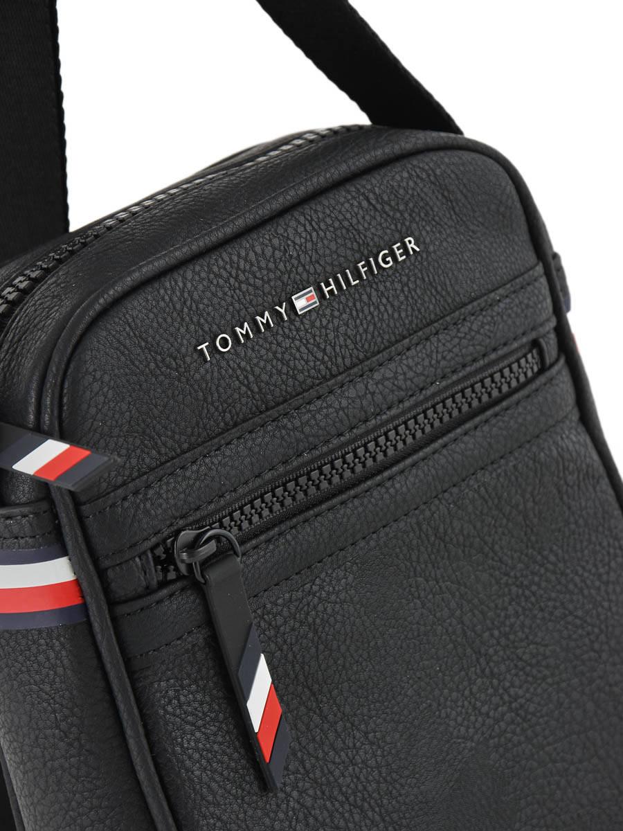 53578f4ac70 ... Cross Body Tas Tommy hilfiger Zwart essentiel AM04618 ander zicht 1 ...