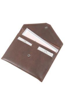 Papierhouder Leder Etrier Bruin dakar 200054-vue-porte