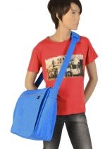 Cross Body Tas A4 Formaat Kipling Blauw back to school Azenya - 15379-vue-porte