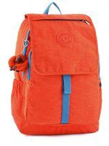Rugzak 2 Compartimenten Kipling Oranje back to school Haruko - 15377