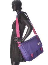 Cross Body Tas Delegate Eastpak Violet authentic K076-vue-porte