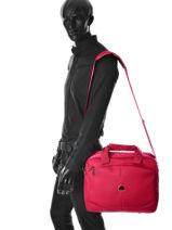 Messenger Tas Delsey Rood ulite classic 3245190-vue-porte