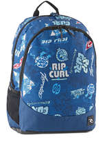 Rugzak 2 Compartimenten Rip curl Blauw heritage logo BBPIX4