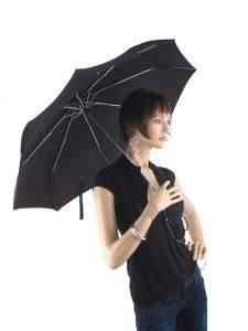 Paraplu Esprit Zwart diamond 50625-vue-porte
