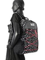 Rugzak Dakine Zwart girl packs 1001439W-vue-porte