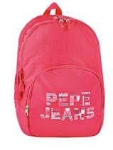 Rugzak 2 Compartimenten Pepe jeans Roze samantha 66124