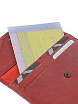 Papierhouder Leder Etrier Rood blanco 600054-vue-porte