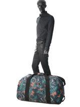 Reistas Met Wieltjes Authentic Luggage Eastpak Zwart authentic luggage K072-vue-porte