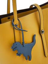 Tasaccessoire Rexy Coach Blauw bag charms 21528-vue-porte