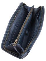Portefeuille Leder Basilic pepper Blauw cow BCOW91-vue-porte