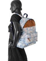 Rugzak 1 Compartiment Roxy Veelkleurig backpack RJBP3638-vue-porte
