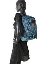 Rugzak 1 Compartiment Dakine Blauw girl packs 8210-105-vue-porte