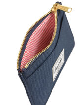 Portemonnee Herschel Blauw classics 10397-vue-porte