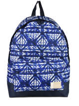Rugzak 1 Compartiment Roxy Blauw backpack RJBP3637