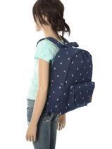 Rugzak 1 Compartiment Roxy Veelkleurig backpack RJBP3640-vue-porte