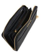 Portefeuille Leder Michael kors Blauw money pieces S7GM9E9L-vue-porte