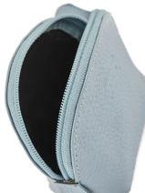 Portemonnee Leder Crinkles Blauw caviar 14026-vue-porte