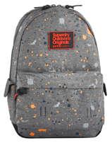 Rugzak 1 Compartiment Superdry Grijs backpack men M91004JQ