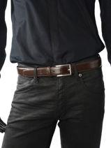 Riem Texier Bruin ceintures 567-vue-porte