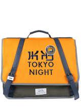 Boekentas 2 Compartimenten Ikks Geel backpacker in tokyo 18-41836