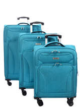 Set Reiskoffers Snow Travel Blauw snow 12208LOT