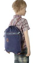 Sporttas Kipling Blauw back to school 9487-vue-porte