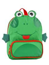 Rugzak Mini Animal Groen kids KIDEI02
