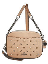 Cross Body Tas Camera Bag Leder Coach Beige camera bag 29329