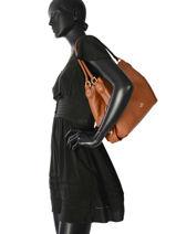 Shoppingtas Edie 31 Leder Coach Bruin edie 57125-vue-porte