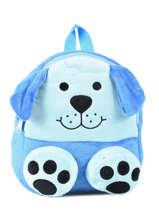 Rugzak Mini Animal Blauw kids KIDNI02