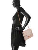 Cross Body Tas Whitney Leder Michael kors Roze m group T8TXIL3U-vue-porte