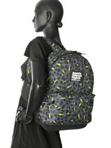 Rugzak 1 Compartiment Superdry Zwart backpack woomen G91001JR-vue-porte