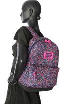 Rugzak 1 Compartiment Superdry Roze backpack woomen G91007JR-vue-porte
