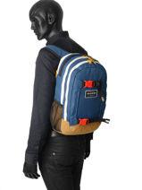 Rugzak 2 Compartimenten Dakine Blauw street packs 1001-437-vue-porte