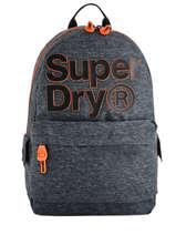 Rugzak 1 Compartiment Superdry Grijs backpack men M91000MR