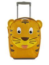 Kinderkoffer Affenzahn Geel trolley AFZ-TRL1