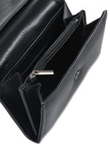 Portemonnee Miniprix Zwart classic 307-vue-porte