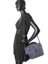 Beauty Case Kipling Blauw basic + 25747-vue-porte