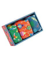 Cadeauset Sokken Xmas Happy socks Veelkleurig pack XMAS08