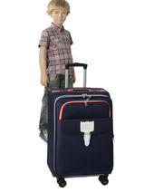 Soepele Reiskoffer Hossegor Tann