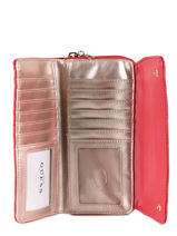 Portefeuille Guess Rood sweet candy VG717562-vue-porte