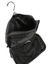 Toiletzak Eastpak Zwart authentic luggage K67D-vue-porte