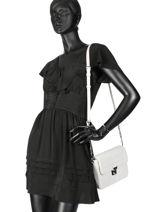 Cross Body Tas Parisienne Couture Leder Lancaster Beige parisienne couture 571-66-vue-porte