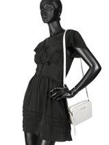 Cross Body Tas Parisienne Couture Leder Lancaster Beige parisienne couture 571-68-vue-porte